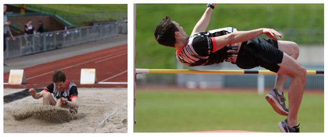 long jump and high jump