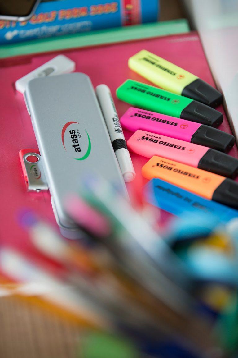 highlighter pens atass stationary